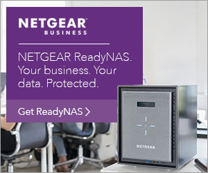 Netgear ReadyNAS. Your Business. Your data. Protected