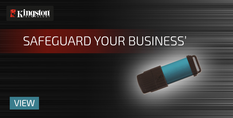Kingston Safeguard your Business